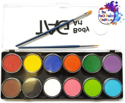 Tag Face Paint Palette (12 Colors)