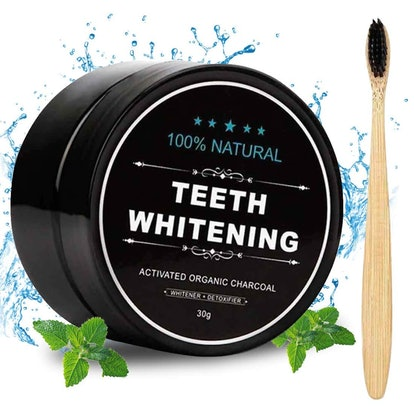Aotto Natural Activated Charcoal Teeth Whitening Powder
