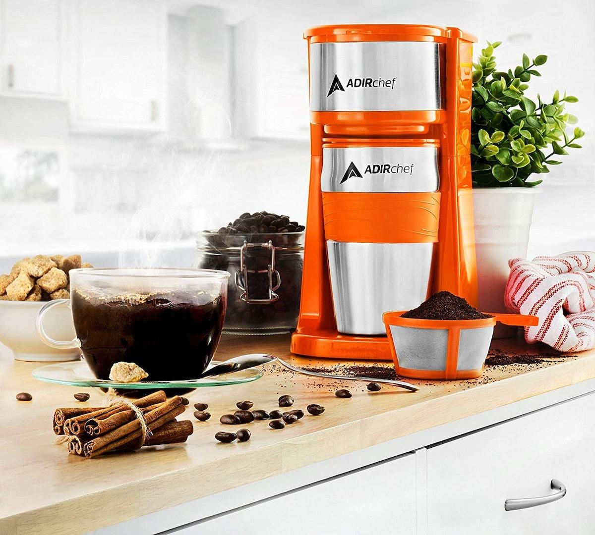 AdirChef Grab N' Go Personal Coffee Maker