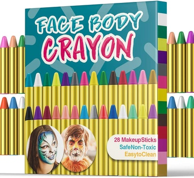 UNEEDE Face Paint Crayons (28 Colors)