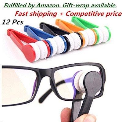 Mini Sunglasses And Eyeglasses Cleaning Kit (10-Pack)