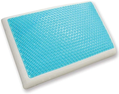 Classic Brands Reversible Cool Gel and Memory Foam Double-Sided Pillow,