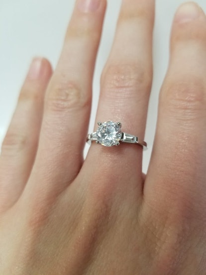 Brilliant Cut Ethical Engagement Ring