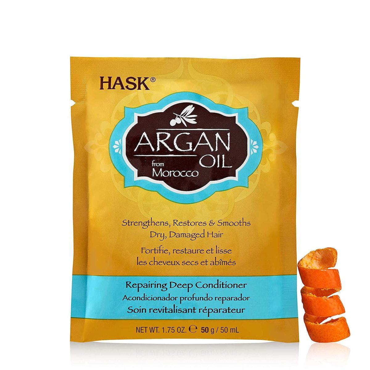 HASK Argan Oil Repairing Deep Conditioner, 12 Count