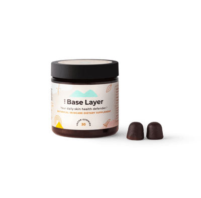 The Base Layer Botanical Skincare Supplement