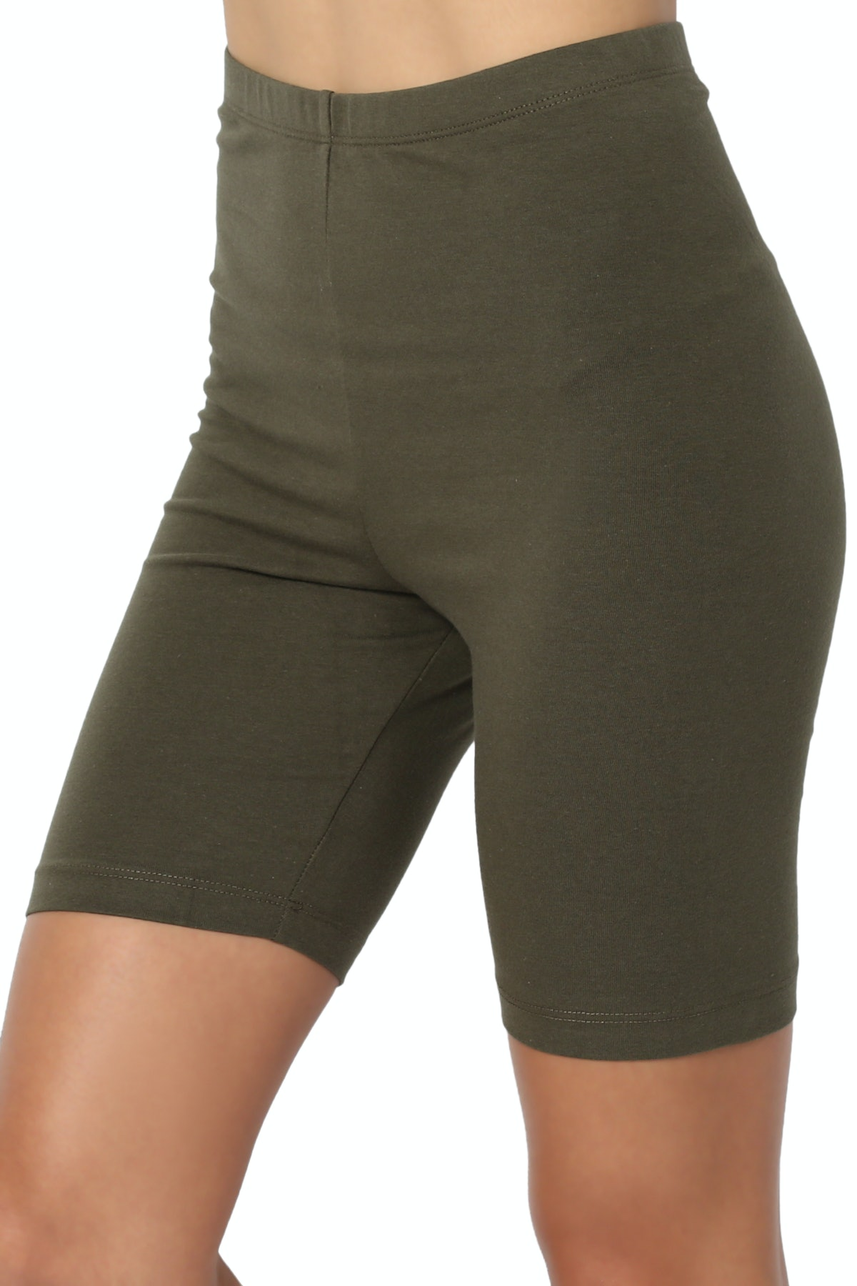 TheMogan Women's Cotton Active Shorts