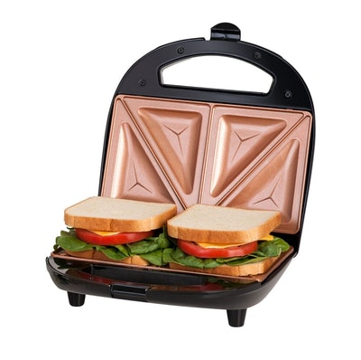 Dual Electric Sandwich Maker and Panini Grill