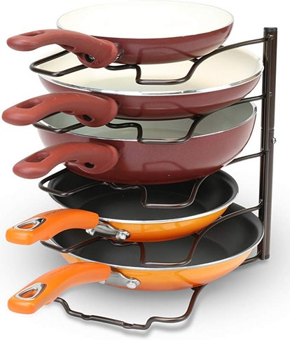 DecoBros Cabinet Pan Organizer Shelf Rack