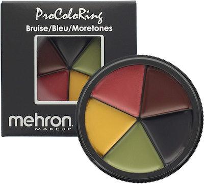 Mehron Makeup 5-Color Bruise Wheel
