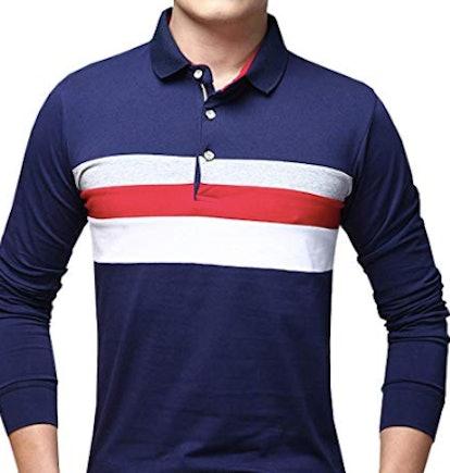 Men's Long Sleeve Polo Shirt