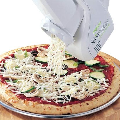 Presto 02910 Salad Shooter Electric Slicer/ Shredder