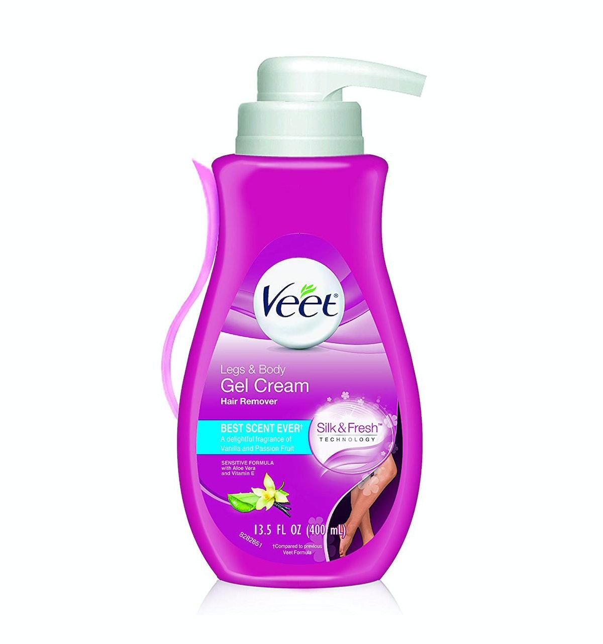 Veet Leg & Body Gel Hair Removal Cream (2-Pack)