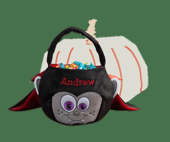 Personalized Halloween Basket