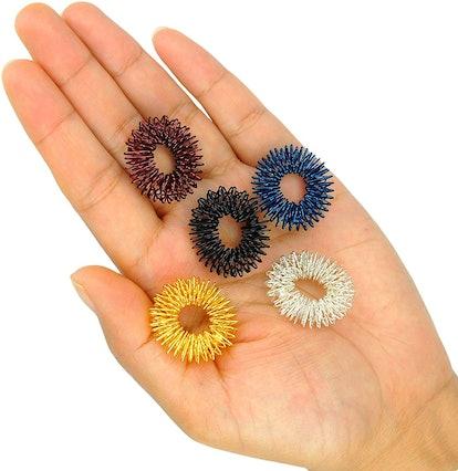 Goda Acupressure Massage Rings (Set Of 5)