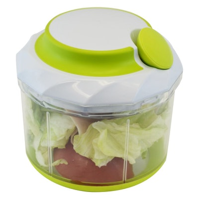 Manual Handheld Food Chopper Vegetable & Meat, Large 4.5 Cups