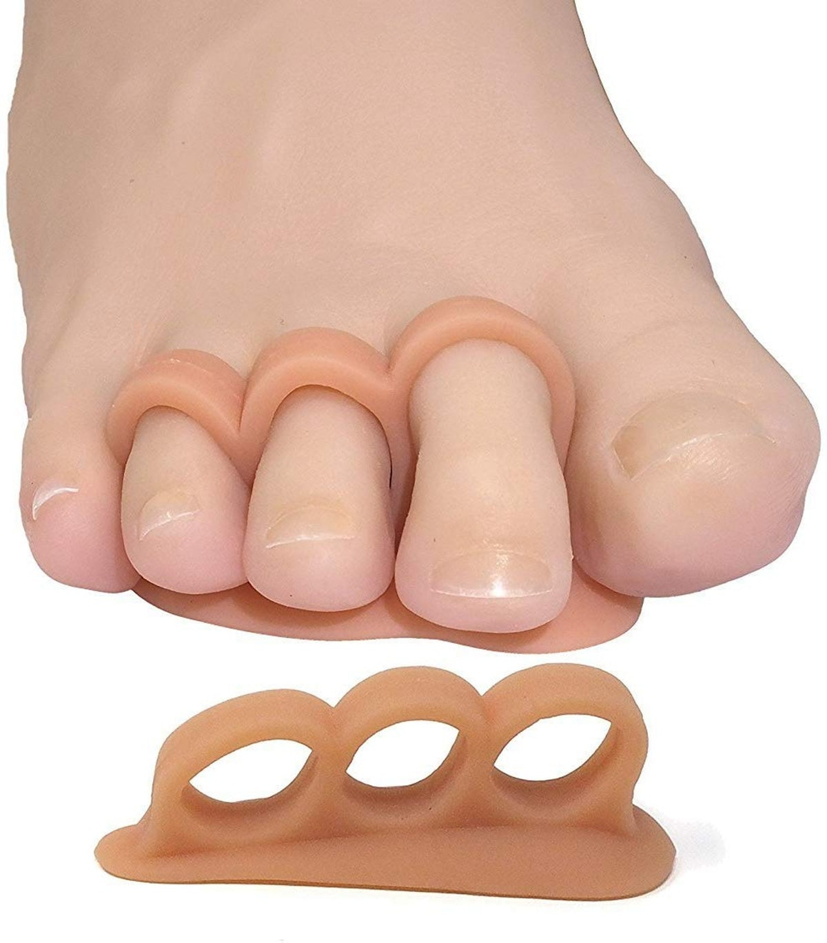 ZenToes Hammer Toe Straightener and Corrector (4-Pack)