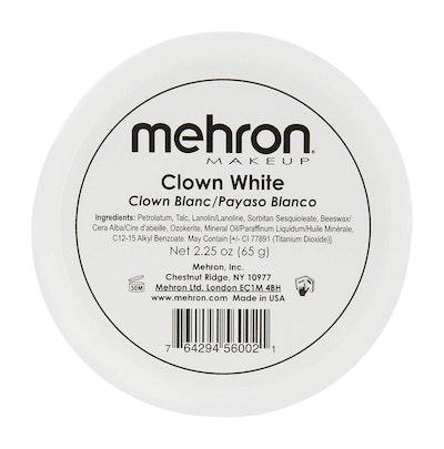 Mehron Makeup Clown White Makeup