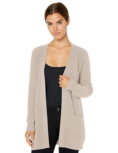 Daily Ritual Wool Blend Open Front Cardigan
