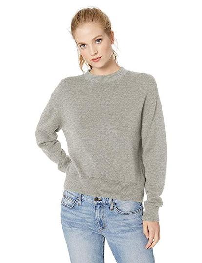 Daily Ritual Cotton Crewneck Sweater