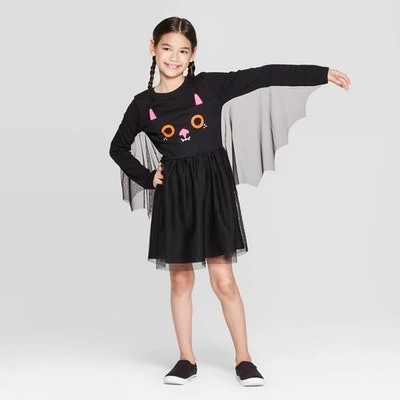Girls' Halloween Bat Dress