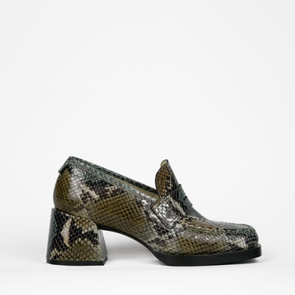 Kitty Loafer Multi Python Calf