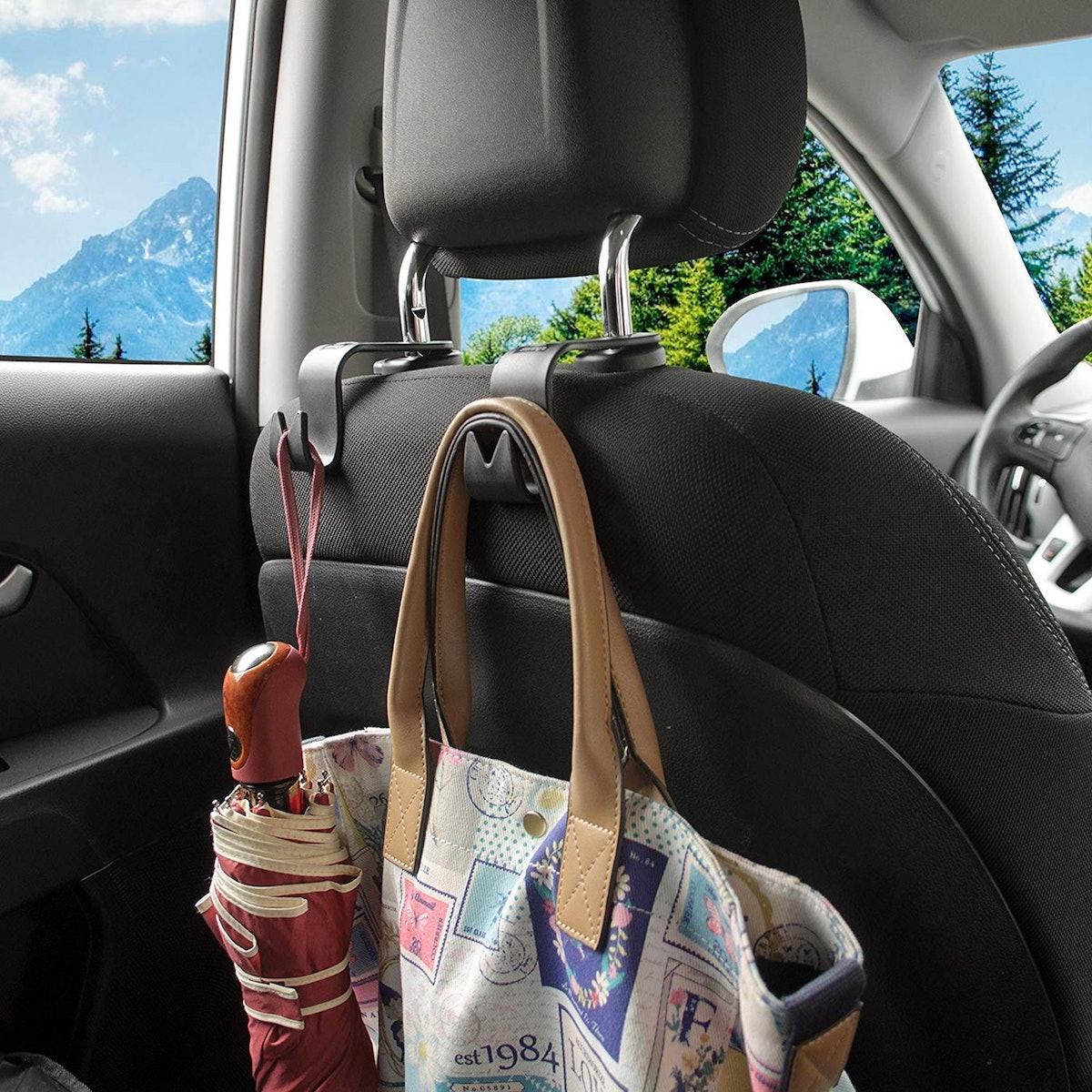 Starling's Car Headrest Hooks (4-Pack)