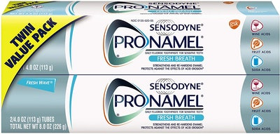 Sensodyne Pronamel Toothpaste for Tooth Enamel Strengthening, 4 Ounce (2-Pack)