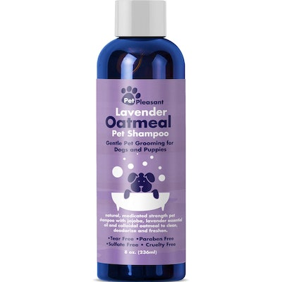Pet Pleasant Lavender Oatmeal Pet Shampoo (8 Oz.)