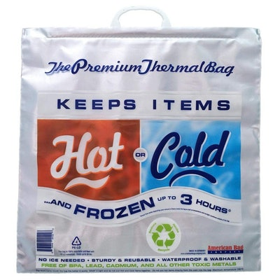 Hot Cold Bag Insulated Grocery Bag