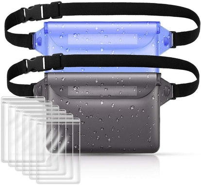 Suxman Waterproof Swimming Pouches (2-Pack)