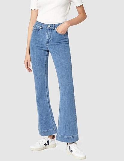 find. Stretch Flared Jeans