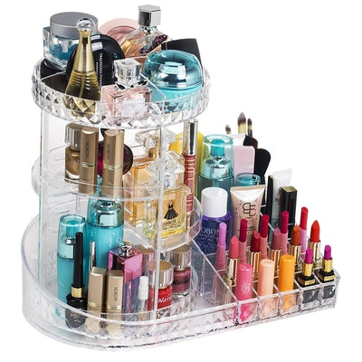 Readaeer Rotating Adjustable Makeup Organizer