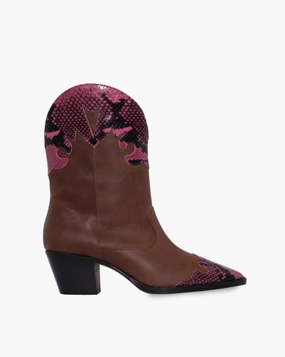 Bicolor Cowboy Boots