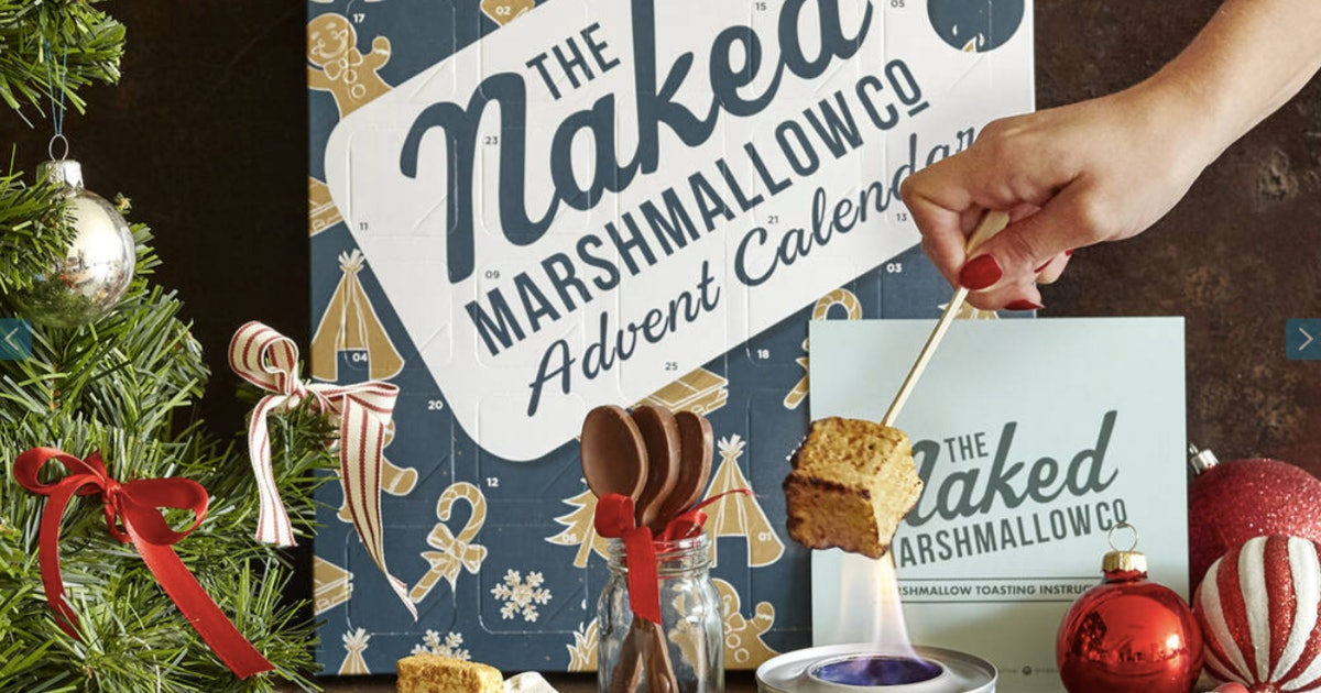 This Marshmallow Advent Calendar Comes With A Chocolate Spoon