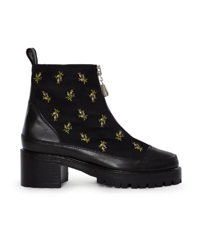 Embroidered Chris Boot