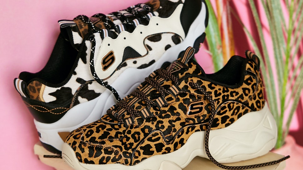 skechers animal sneakers outfitters urban vibe 90s such lites courtesy