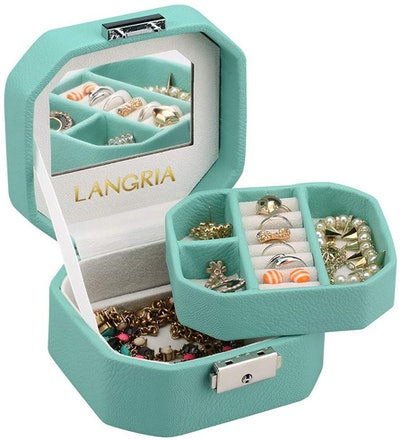 LANGRIA Lockable Jewelry Box