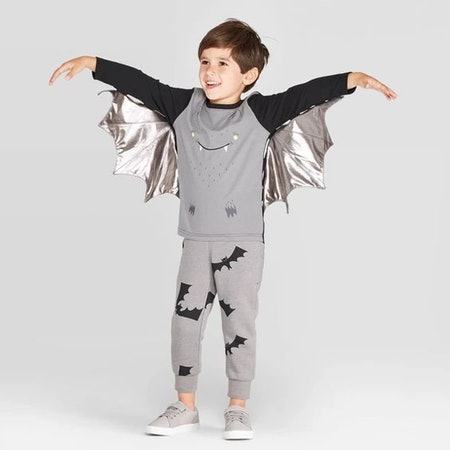 Toddler Boys' Bat T-Shirt with Wings