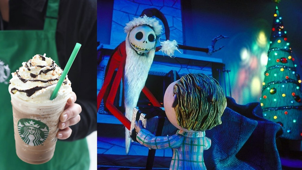 Christmas Starbucks Drinks 2019.What S In A Jack Skellington Frappuccino It S Sure To Be