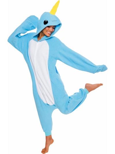 Narwhal Halloween Costume Pajamas
