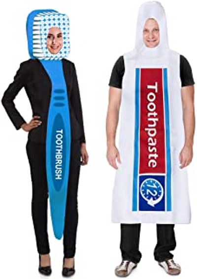 Toothbrush and Toothpaste Costume