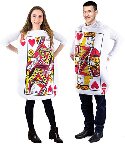 King and Queen Card Costume