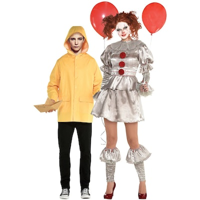 Adult Pennywise and Georgie Couples Costumes