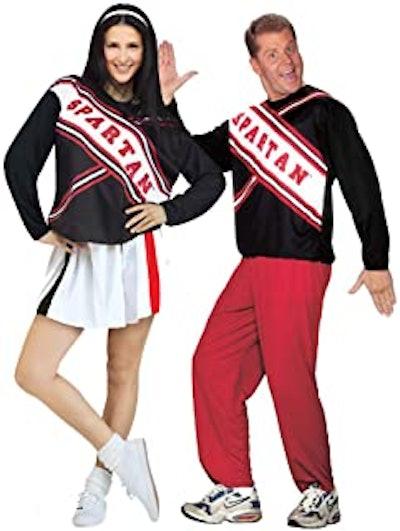 SNL Spartan Cheerleader Costume Set