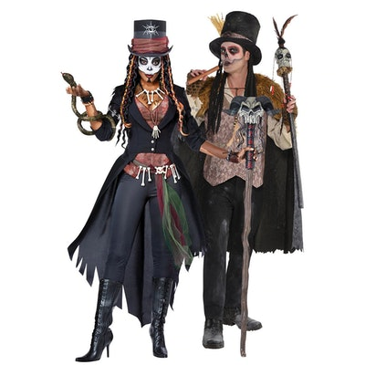 Adult Witch Doctors Couples Costumes