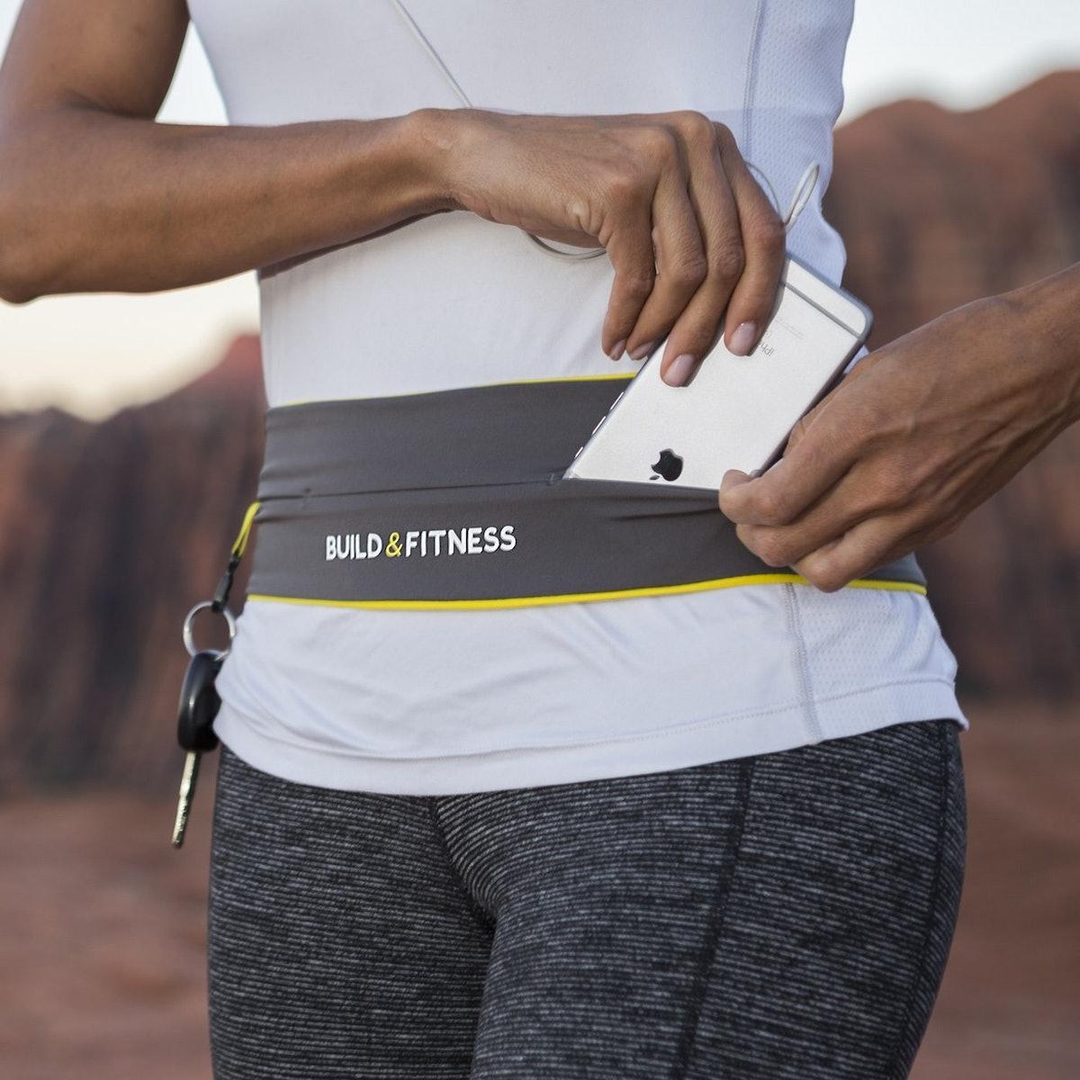 Build & Fitness Running Belt