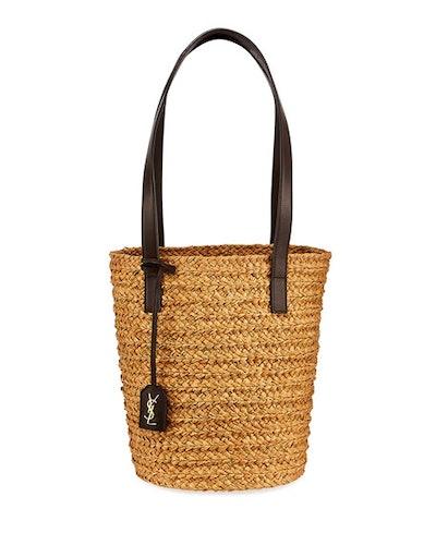 Woven Raffia Tote Bag