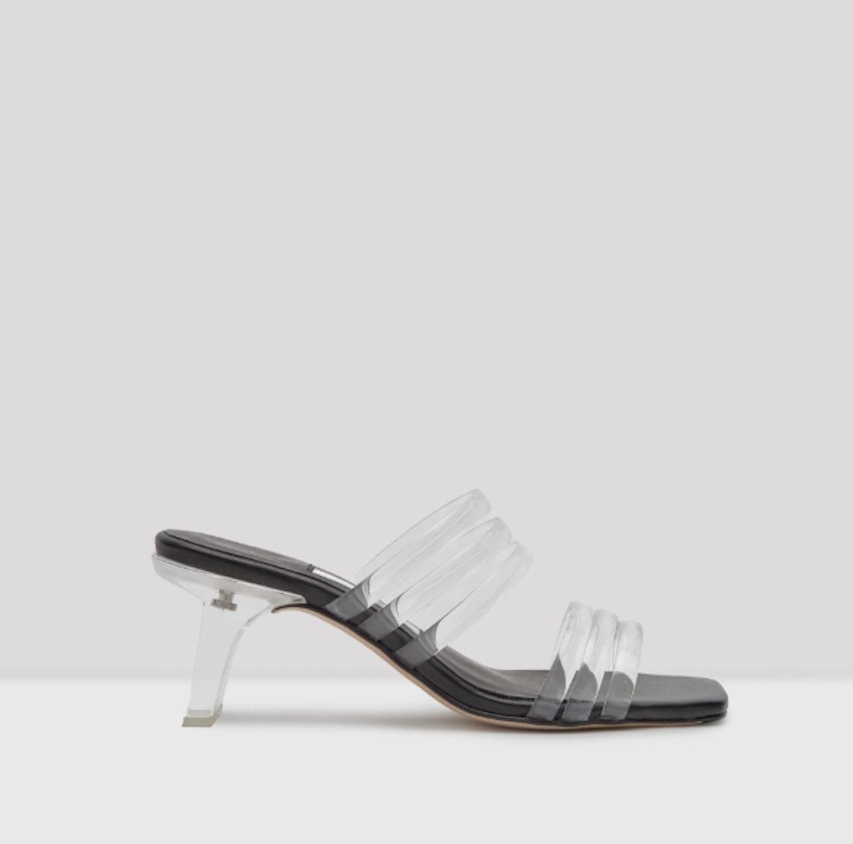 Helena Clear Vinyl Sandals