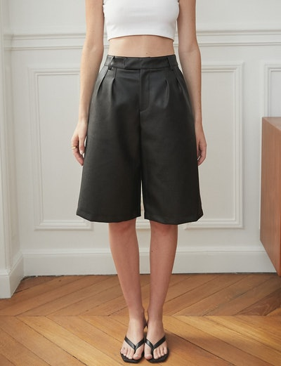 Riley Leather Culottes