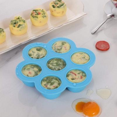Aozita Silicone Egg Bites Mold